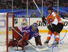 JEREMY ROENICK SIGNED PHILADELPHIA FLYERS WINTER CLASSIC 8X10 RANGERS