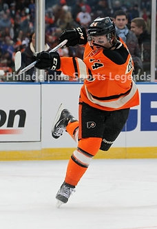 Sean Couturier Philadelphia Flyers 2012 Winter Classic 8x10 slap shot photo