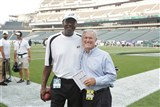 HAROLD CARMICHAEL DICK VERMEIL EAGLES  PHOTO