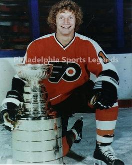 "Don ""The Bird"" Saleski Philadelphia Flyers Stanley Cup 8x10 photo Broad Street"