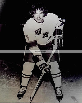 JACK OCCALLAHAN USA MIRACLE ON ICE BW PHOTO