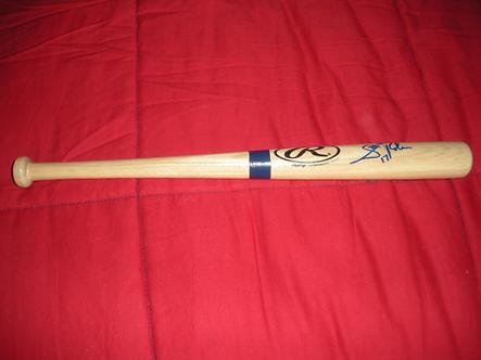 Scott Rolen autographed Rawlings mini bat Philadelphia Phillies