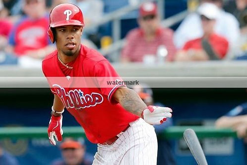 Nick Williams Phillies future star unsigned photo