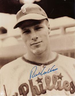 Rich Ashburn autographed Phillies 8x10 #3 Hall of Fame