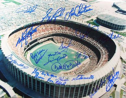 1980 Philadelphia Phillies World Series Champions Vet Stadium 11x14