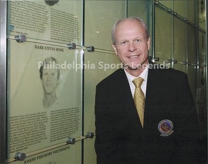 Mark Howe Philadelphia Flyers Hall of Fame induction 8x10 photo