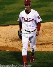 JAMIE MOYER PHILADELPHIA PHILLIES 2008 WORLD SERIES 8X10 WITH PITCHING RUBBER 2
