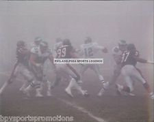 RANDALL CUNNINGHAM EAGLES BEARS FOG BOWL PHOTO #4