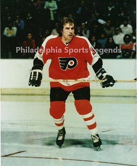 Bill Clement Philadelphia Flyers action 8x10 photo Broad Street Bullies