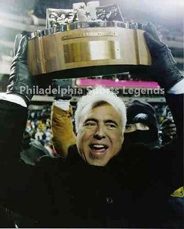 Jeffrey Lurie Philadelphia Eagles NFC Championship 8x10 photo