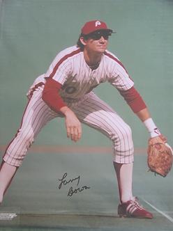 Larry Bowa 1980 Philadelphia Phillies signed 11x14 photo