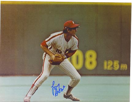 Larry Bowa Philadelphia Phillies classic 8x10 signed photo
