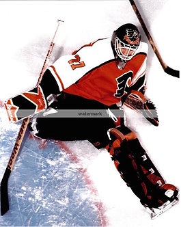 RON HEXTALL FLYERS ARIAL SAVE PHOTO WOW!
