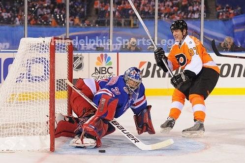 Jeremy Roenick Philadelphia Flyers 2011 Winter Classic Alumni 8x10 Rangers