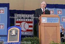 Pat Gillick 2011 Hall of Fame Induction 8x10 2008 Philadelphia Phillies