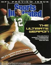 RANDALL CUNNINGHAM EAGLES SPORTS ILLUSTRATED ULTIMATE WEAPON PHOTO