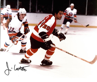 JIM WATSON FLYERS SIGNED ACTION 8X10 BROAD ST BULLIES