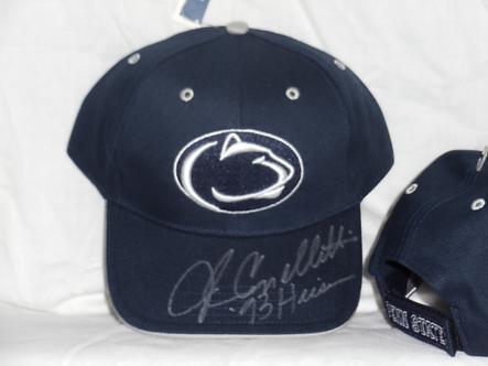 John Cappelletti Penn State Football autographed hat 1973 Heisman Trophy #4