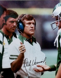 Dick Vermeil autographed Philadelphia Eagles 8x10 Ron Jaworski #2 Super Bowl XV