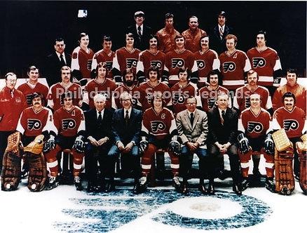 1973-74 Stanley Cup Champion Philadelphia Flyers 8x10 Broad Street Bullies