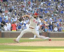 COLE HAMELS PHILLIES NO HITTER 8x10 PHOTO vs CHICAGO CUBS 7/25/15 MUST SEE