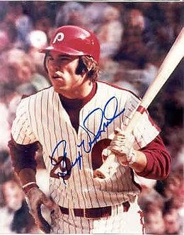 George Vukovich 1980 Philadelphia Phillies autographed 8x10 photo