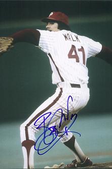 Bob Walk 1980 Philadelphia Phillies autographed 8x10 photo