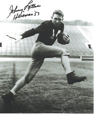 JOHNNY LATTNER AUTOGRAPHED 8X10 PHOTO HEISMAN TROPHY NOTRE DAME FIGHTING IRISH