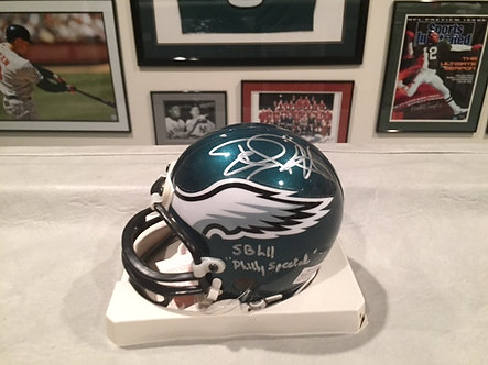 Mini Eagles Helmet: Super Bowl Champs, Philly Speical