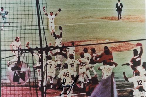Dallas Green autographed 1980 Phillies World Series Celebration 8x10
