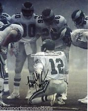 RANDALL CUNNINGHAM PHILADELPHIA EAGLES FOG BOWL AUTHENTIC AUTOGRAPHED 8X10 #2