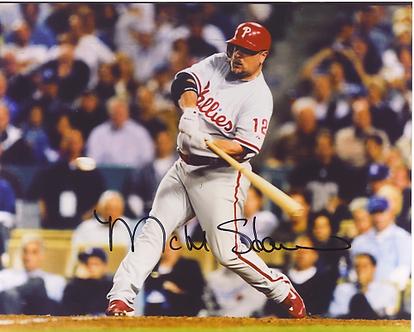 Matt Stairs Philadelphia Phillies signed 2008 NLCS Home Run vs Dodgers #2