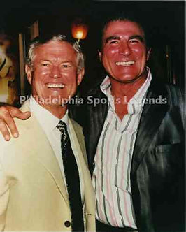 Dick Vermeil Vince Papale Philadelphia Eagles Invincible 8x10 photo