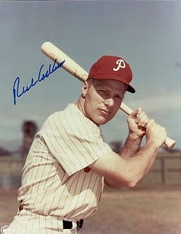 Rich Richie Ashburn Philadelphia Phillies signed 8x10 Hall of Fame