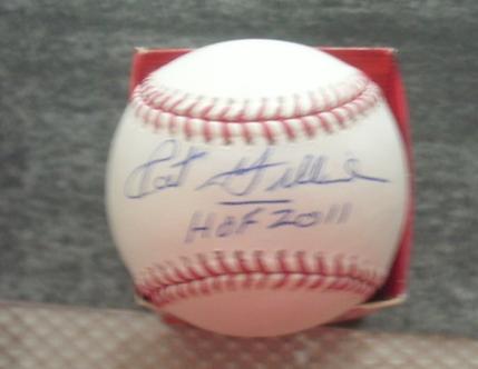 Pat Gillick 2008 Philadelphia Phillies signed World Series Baseball Hall of Fame