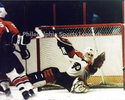 Bob Froese Philadelphia Flyers vintage action 8x10 photo Broad Street Bulllies
