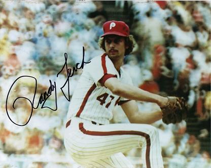 Randy Lerch 1980 Philadelphia Phillies autographed 8x10 photo