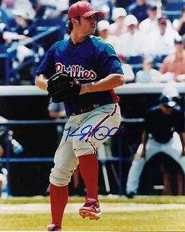 Kyle Drabek Reading Phillies autographed 8x10