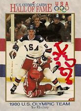 HERB BROOKS (DEC) 1980 USA OLYMPIC HOCKEY MIRACLE ON ICE HOF CARD