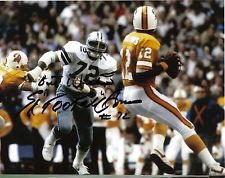 ED TOO TALL JONES DALLAS COWBOYS AUTOGRAPHED 8X10 SACKING DOUG WILLIAMS PLAYOFFS
