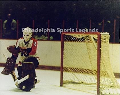 Bernie Parent Philadelphia Flyers vintage action 8x10 photo Broad St Bullies