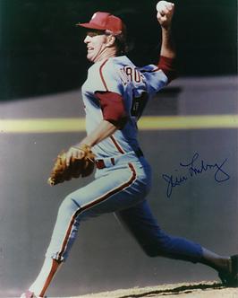 Jim Lonborg Philadelphia Phillies autographed 8x10 photo Red Sox