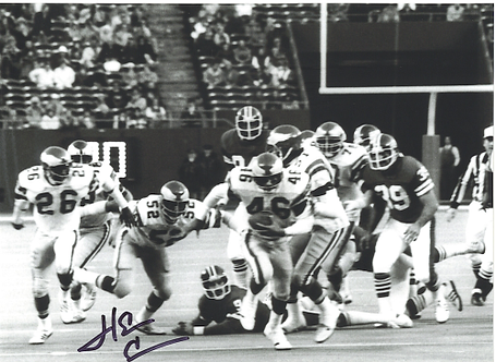 Herm Edwards Philadelphia Eagles autographed Miracle at the Meadowlands 8x10 #2