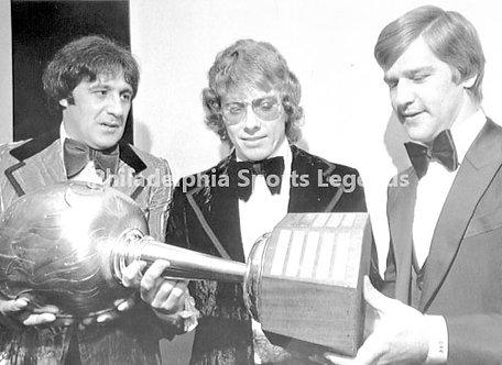 Bob Clarke Flyers Bobby Orr Bruins Phil Esposito Rangers Hart Trophy Finalists