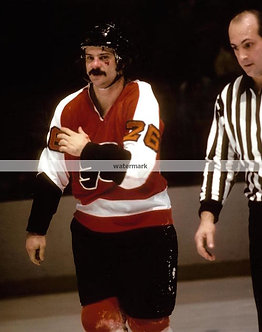 OREST KINDRACHUK FLYERS BROAD ST BULLIES FIGHT PHOTO