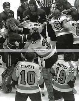 Flyers Broad Street Bullies Fight photo Bobby Taylor