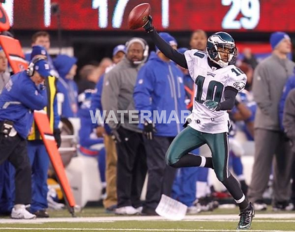 DESEAN JACKSON EAGLES MIRACLE AT THE MEADOWLANDS