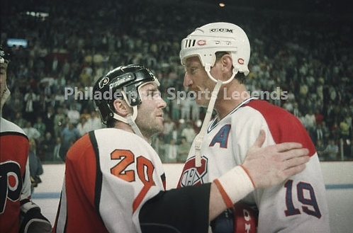 Dave Poulin Philadelphia Flyers Larry Robinson Canadiens 2011 Eastern Conference