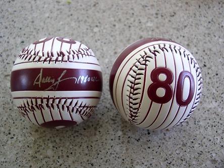 Dallas Green autographed 1980 Philadelphia Phillies baseball old logo