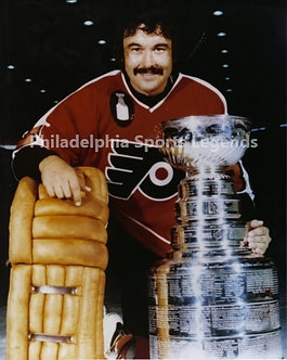 """Bobby Taylor """"The Chief"""" Philadelphia Flyers Stanley Cup 8x10 photo Broad Street"""